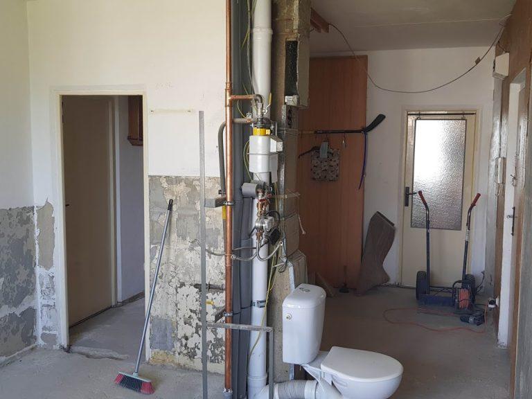 rekonštrukcia bytu Záhonok